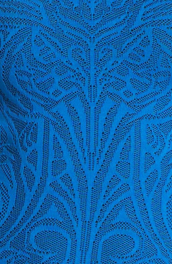 Alternate Image 3  - RVN Lace Jacquard Dress