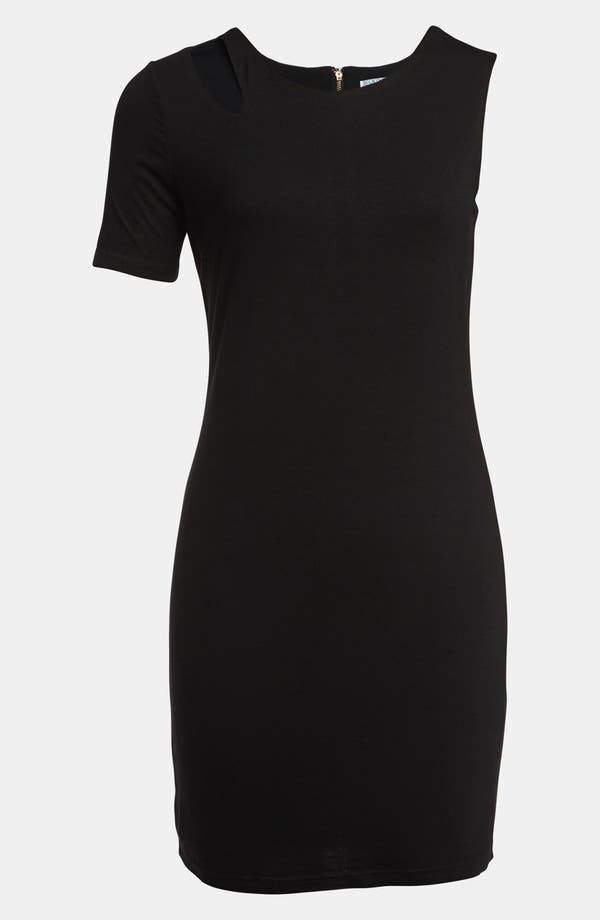 Alternate Image 1 Selected - Lucca Couture Single Sleeve Cutout Dress