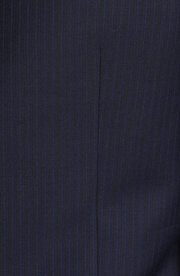 Alternate Image 6  - Armani Collezioni 'Giorgio' Chalk Stripe Wool Suit