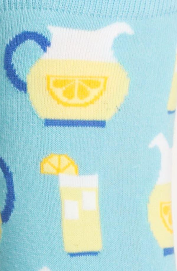 Alternate Image 2  - Hot Sox 'Lemonade' Socks