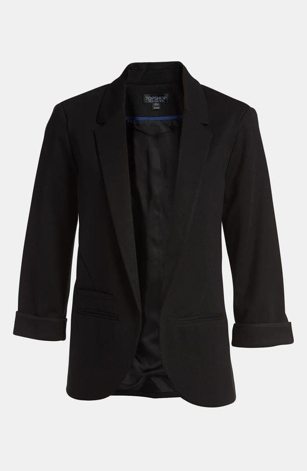 'Monty' Ponte Blazer,                         Main,                         color, Black