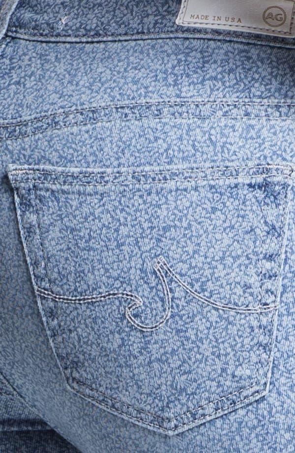 Alternate Image 3  - AG Jeans 'Liberty of London' Print Denim Ankle Legging (Denim Isla)