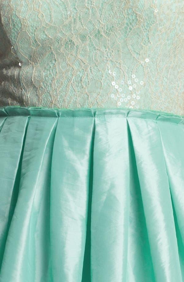 Alternate Image 3  - Way-In Embellished Ballerina Dress (Juniors)