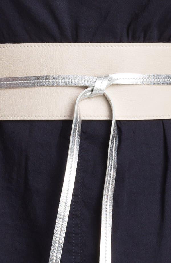 Alternate Image 3  - Eileen Fisher 'Obi' Leather Belt (Plus)
