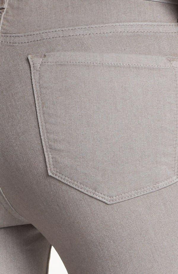 Alternate Image 3  - J Brand Coated Metallic Skinny Jeans (Coated Limestone)
