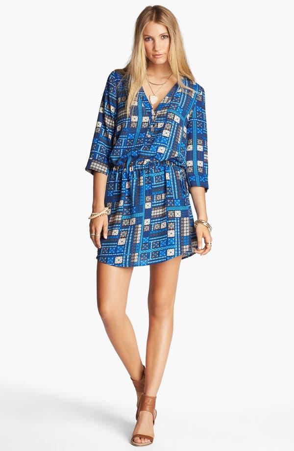 Alternate Image 1 Selected - RBL Cuffed Sleeve Dress