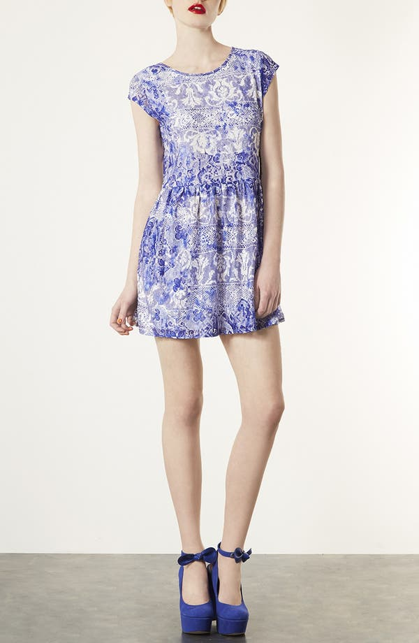 Alternate Image 1 Selected - Topshop 'China Lace' Dress