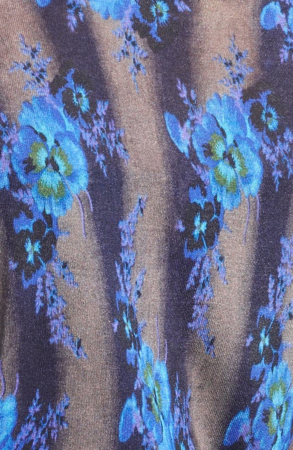 Alternate Image 3  - Christopher Kane Print Silk Cardigan