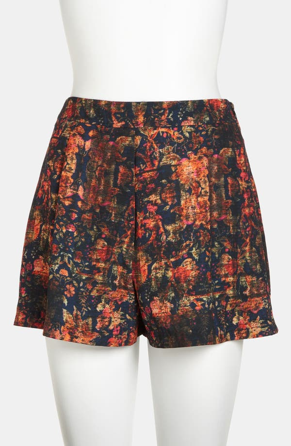 Alternate Image 2  - ASTR High Waisted Print Shorts