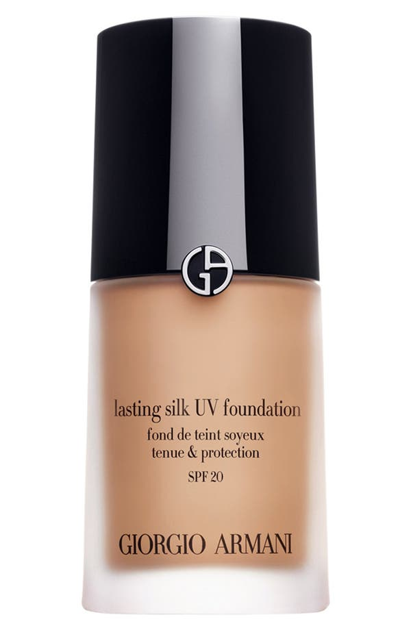 Alternate Image 1 Selected - Giorgio Armani 'Lasting Silk' UV Foundation SPF 20