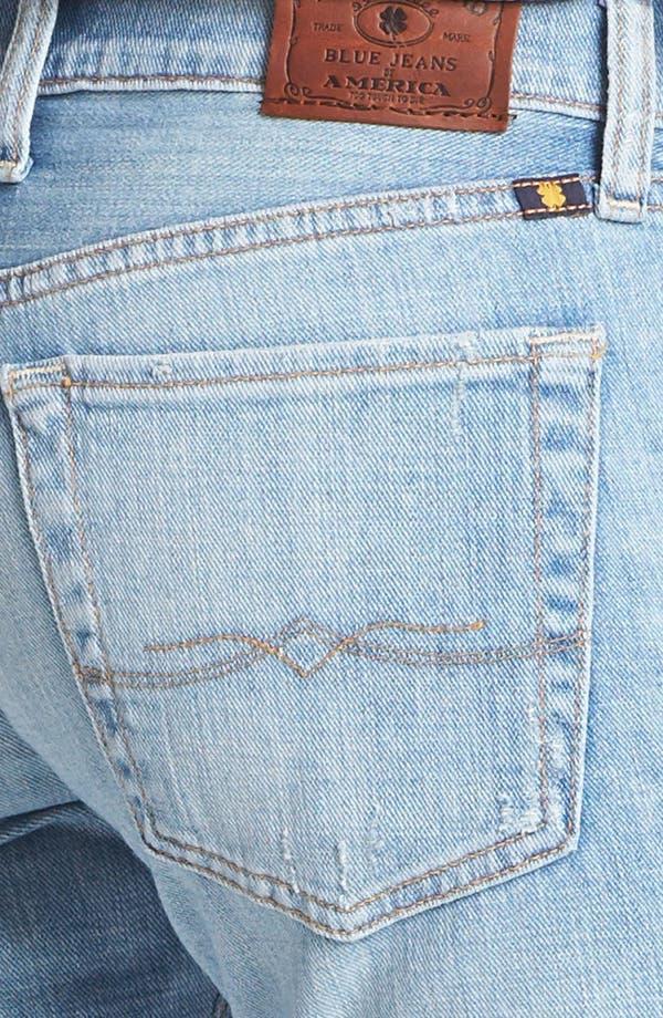 'Sienna' Tomboy Crop Jeans,                             Alternate thumbnail 3, color,                             La Jolla