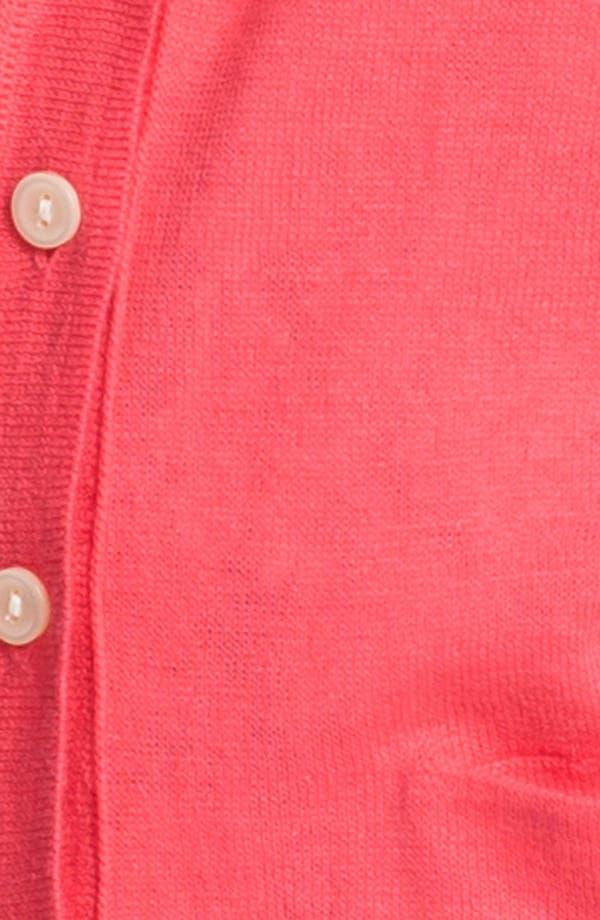 Alternate Image 3  - Caslon® V-Neck Cardigan