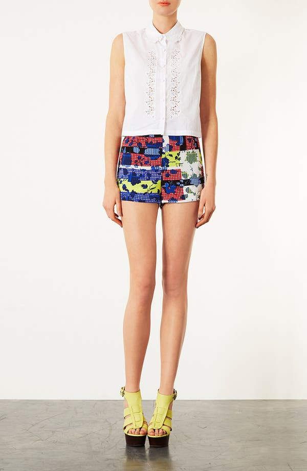 Alternate Image 4  - Topshop 'Railroad' Stripe Shorts