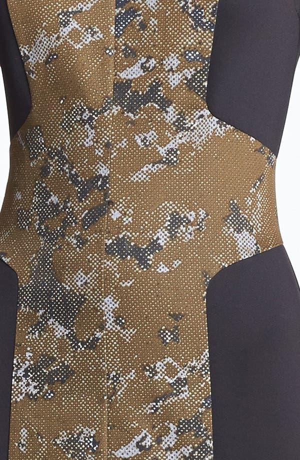 Alternate Image 4  - Robert Rodriguez Framed Print Dress