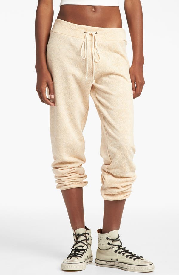 Alternate Image 1 Selected - Piper Burnout Print Sweatpants