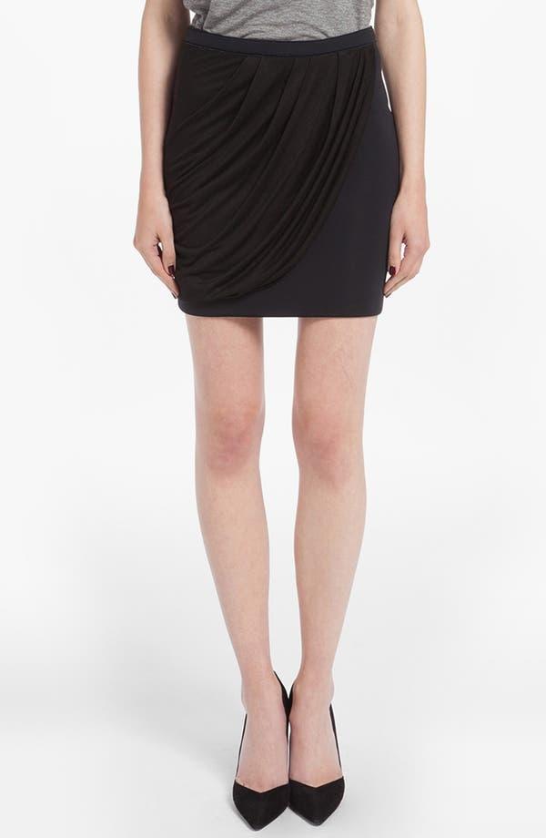 Main Image - maje 'Doremi' Drape Skirt
