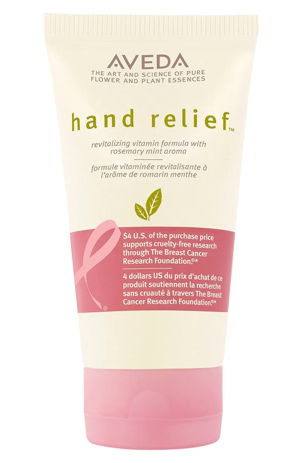 'hand relief<sup>™</sup> - Breast Cancer Research Foundation' Moisturizer,                         Main,                         color, No Color