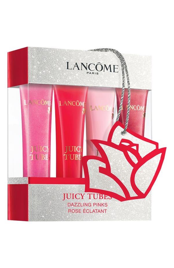 Alternate Image 1 Selected - Lancôme 'Juicy Tubes - Dazzling Pink' Ultra Shiny Lip Gloss Set ($72 Value)