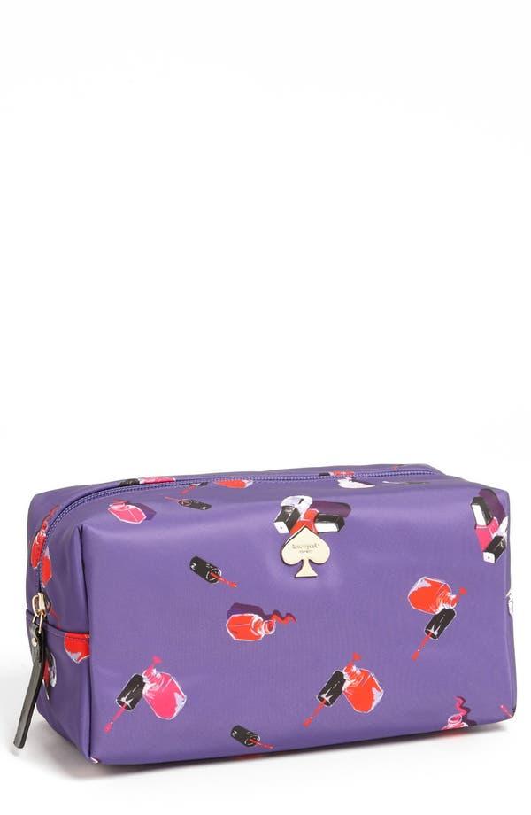 Main Image - kate spade new york 'polish up - davie large' cosmetics bag