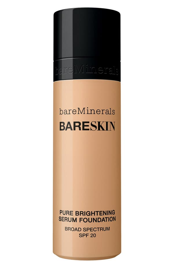 bareSkin<sup>®</sup> Pure Brightening Serum Foundation Broad Spectrum SPF 20,                         Main,                         color,