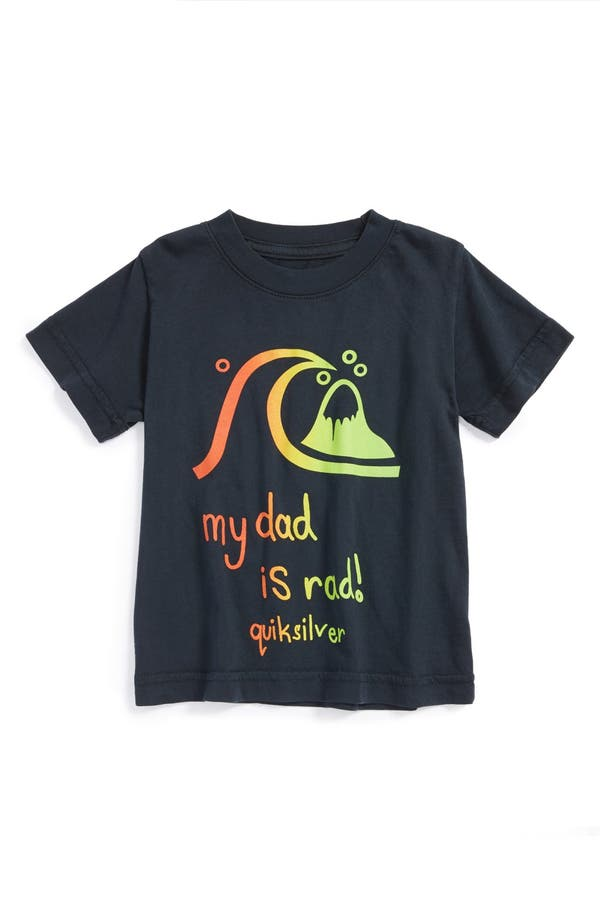 Alternate Image 1 Selected - Quiksilver 'Rad Dad' T-Shirt (Baby Boys)
