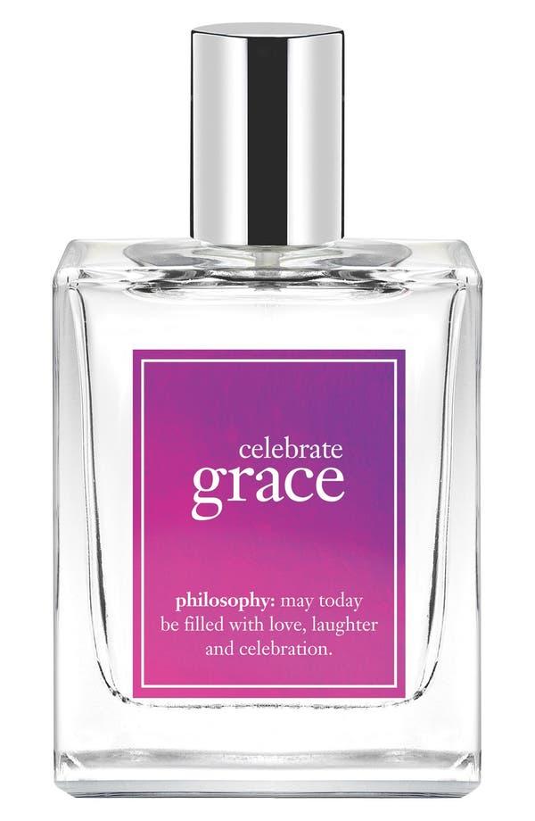 'celebrate grace' eau de toilette,                         Main,                         color, No Color