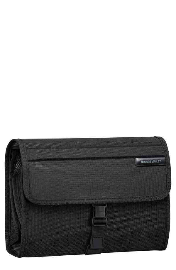 Alternate Image 1 Selected - Briggs & Riley 'Baseline Deluxe' Hanging Toiletry Kit