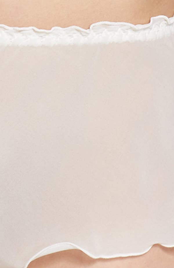 Chiffon Tap Shorts,                             Alternate thumbnail 7, color,                             Off White
