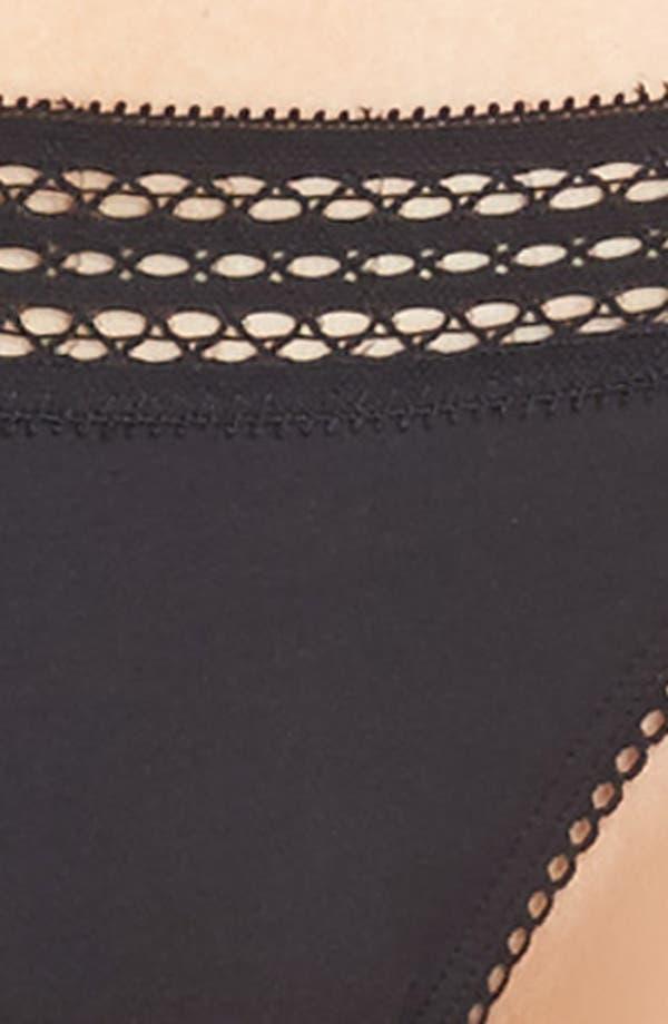 Bikini,                             Alternate thumbnail 7, color,                             Black