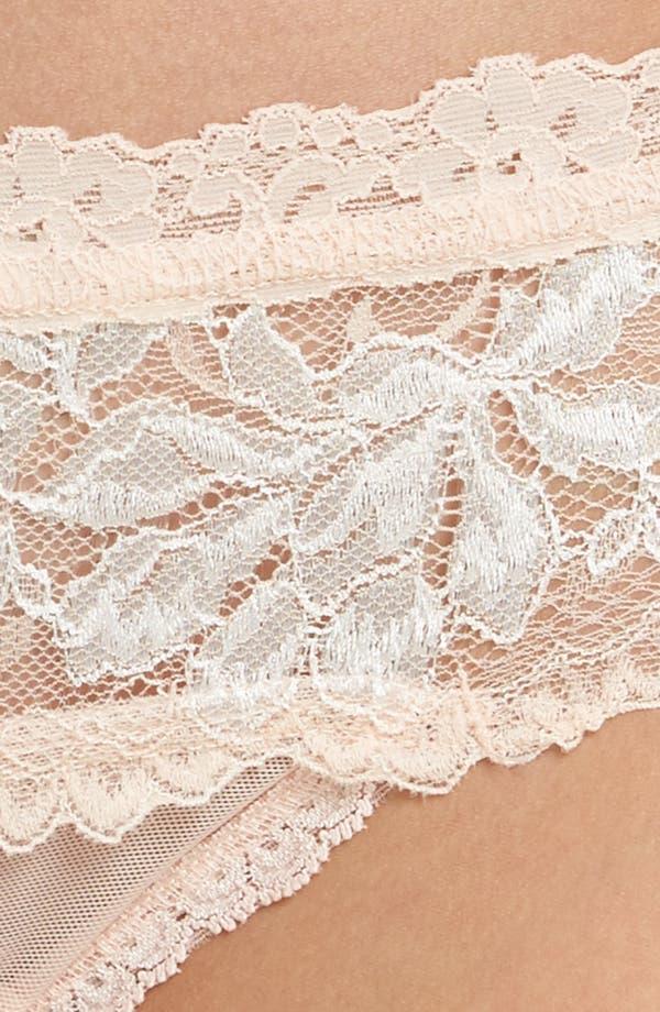 Alexa Lace Bikini,                             Alternate thumbnail 8, color,                             Pink