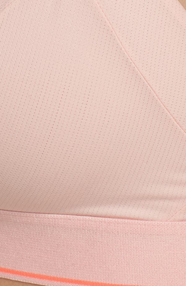 Not Tonight Twisted Triangle Bralette,                             Alternate thumbnail 10, color,                             Pink