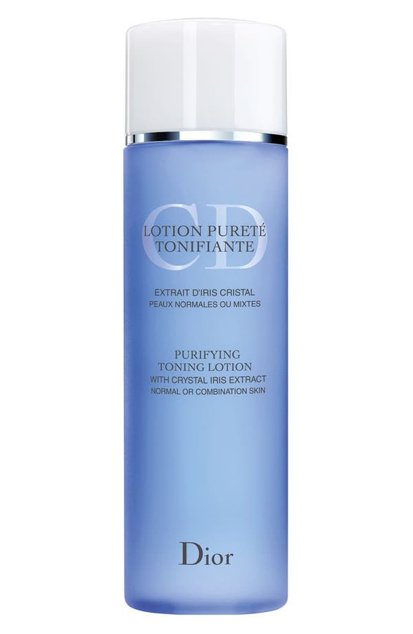 Alternate Image 1 Selected - Dior Purifying Toning Lotion for Normal or Combination Skin