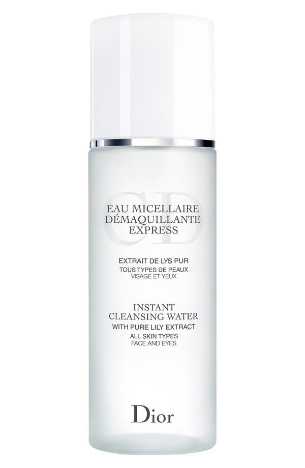 Main Image - Dior Instant Cleansing Water for All Skin Types