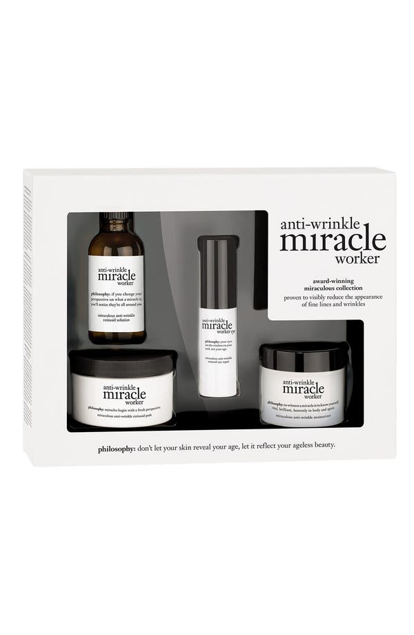 Alternate Image 1 Selected - philosophy 'anti-wrinkle miracle worker' award-winning miraculous collection ($200 Value)