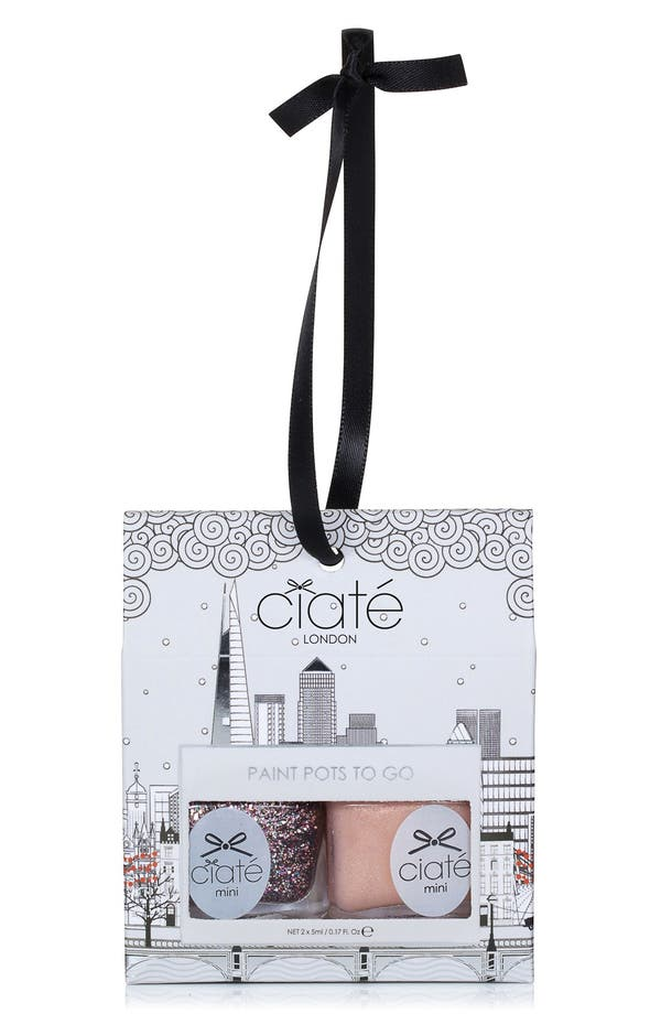 Main Image - Ciaté 'Taupe' Paint Pot Duo to Go (Limited Edition)