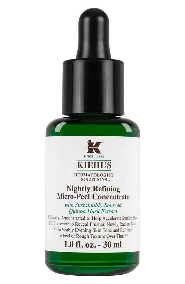 Main Image - Kiehl's Since 1851 'Dermatologist Solutions™' Nightly Refining Micro-Peel Concentrate