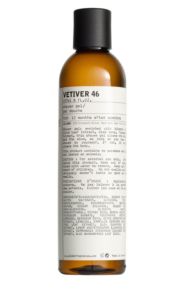 Alternate Image 1 Selected - Le Labo 'Vetiver 46' Shower Gel