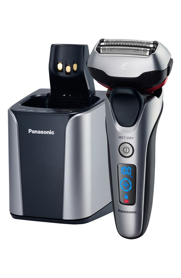 Main Image - Panasonic 'ARC3' 3-Blade Wet/Dry Shaver & Cleansing Station (Nordstrom Exclusive)