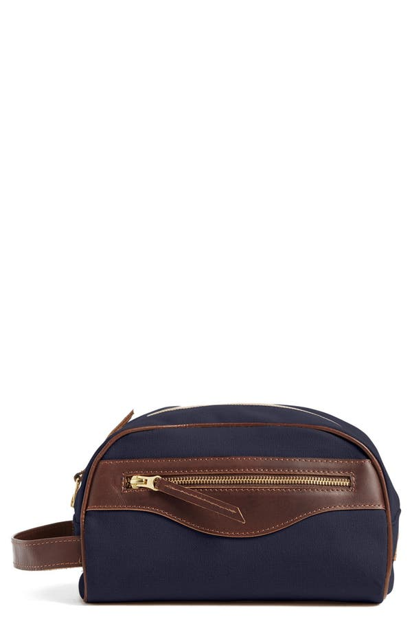 Canvas Travel Case,                         Main,                         color, Navy