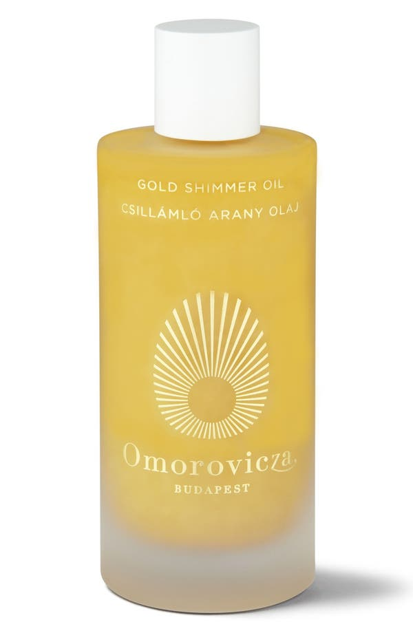 Alternate Image 1 Selected - Omorovicza Gold Shimmer Oil
