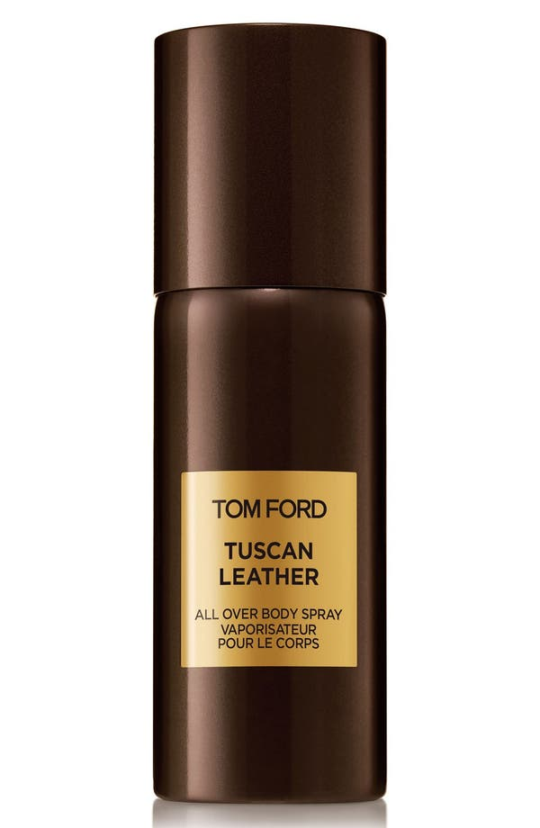 Private Blend Tuscan Leather All Over Body Spray,                         Main,                         color, No Color