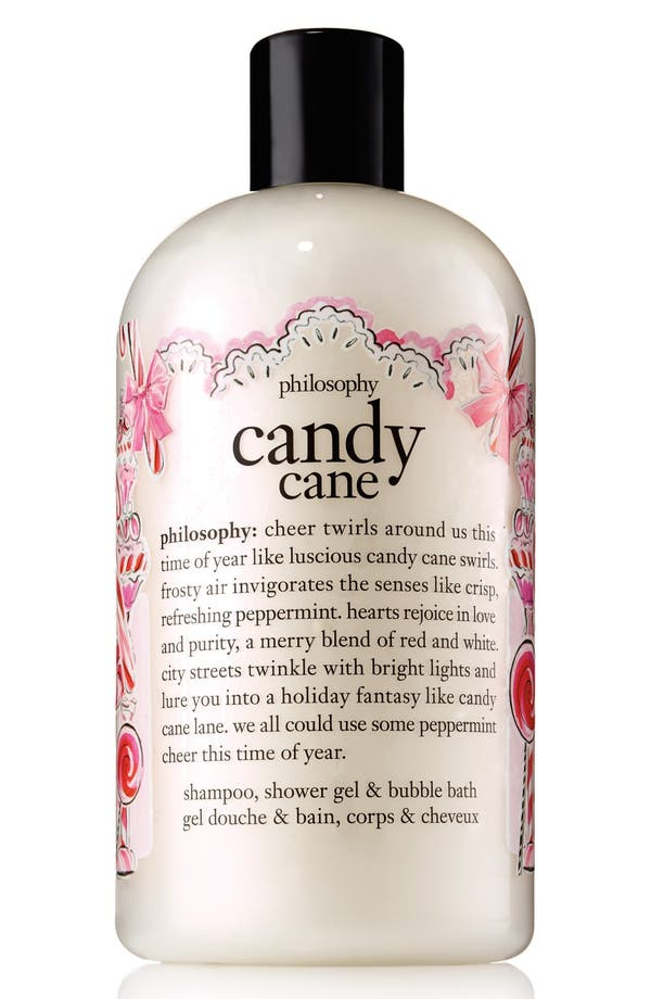 Alternate Image 1 Selected - philosophy 'candy cane' shampoo, shower gel & bubble bath (Limited Edition)