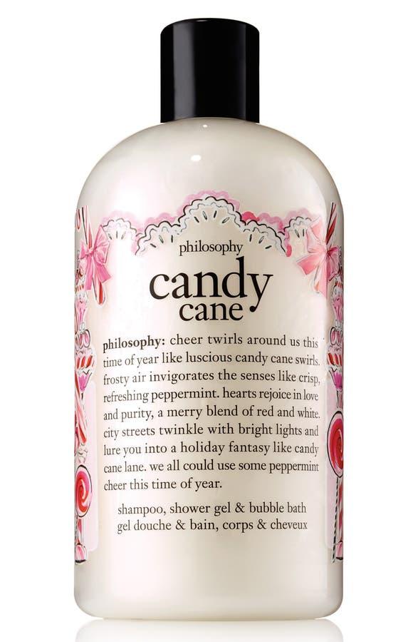 Philosophy Candy Cane Shampoo Shower Gel Bubble Bath Limited