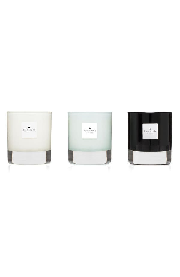 Alternate Image 2  - kate spade new york walk on air candle trio (Limited Edition)