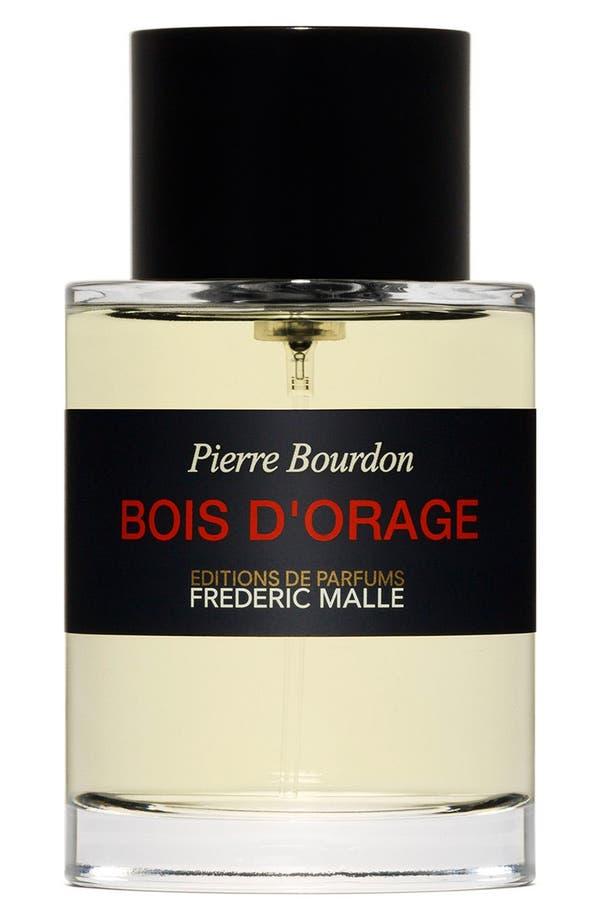 Editions de Parfums Frédéric Malle Bois d'Orage Parfum Spray,                             Main thumbnail 1, color,                             No Color