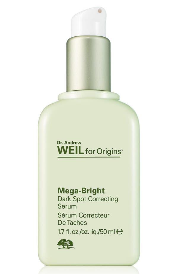 Alternate Image 1 Selected - Origins Dr. Andrew Weil for Origins™ Mega-Bright Dark Spot Correction Serum