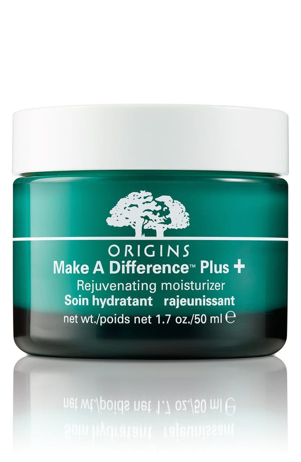 Main Image - Origins Make A Difference™ Plus+ Rejuvenating Moisturizer