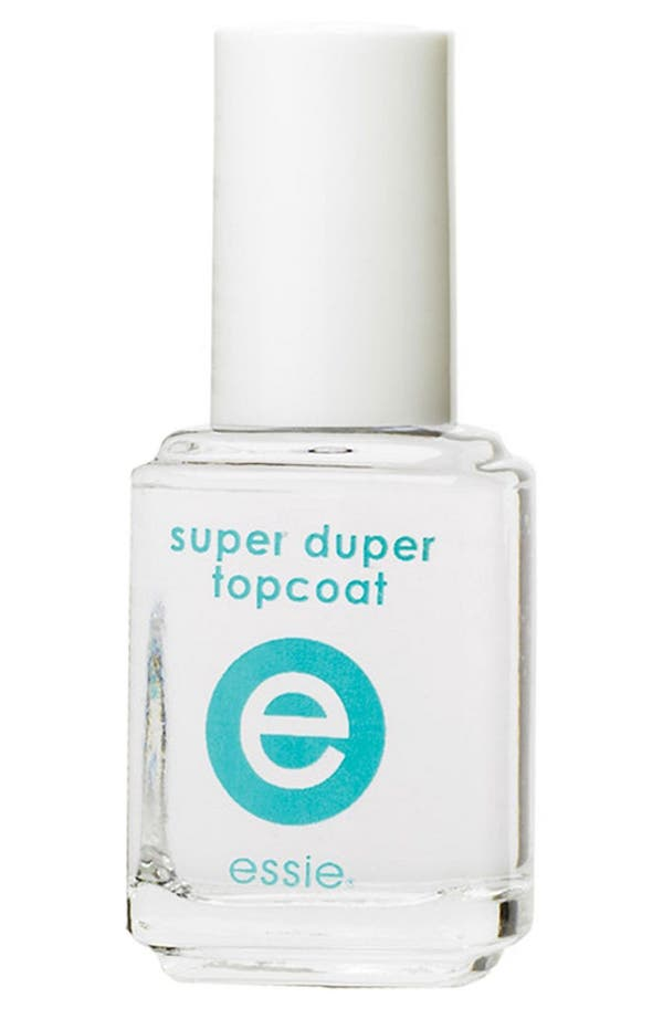Alternate Image 1 Selected - essie® Super Duper Top Coat