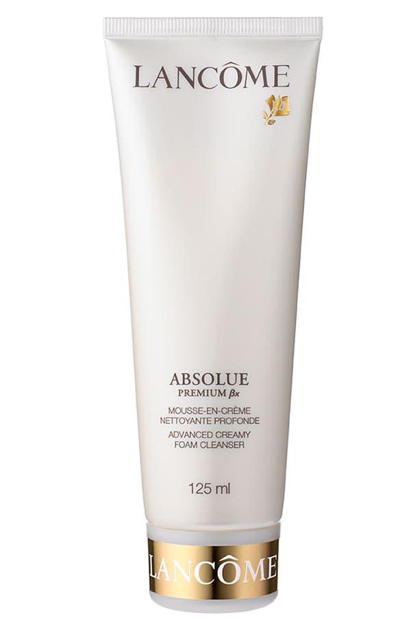 Alternate Image 1 Selected - Lancôme 'Absolue Premium ßx' Foam Cleanser