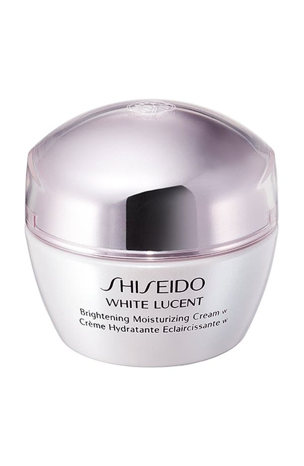 Alternate Image 1 Selected - Shiseido 'White Lucent' Brightening Moisturizing Cream